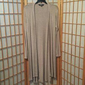 Ellen Tracy Duster Lightweight Sweater sz M
